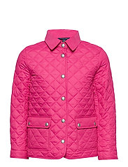 POLY PLAINWEAVE-QUILTED BARN-OW-JKT - ULTRA PINK