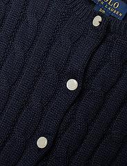Ralph Lauren Kids - COTTON-PEPLUM CARDI-TP-SWT - cardigans - rl navy - 2