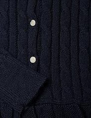 Ralph Lauren Kids - COTTON-PEPLUM CARDI-TP-SWT - cardigans - rl navy - 3