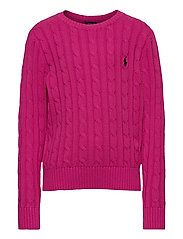 COTTON-CABLE CN-TP-SWT - COLLEGE PINK/RL N