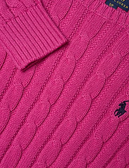Ralph Lauren Kids - COTTON-CABLE CN-TP-SWT - knitwear - college pink/rl n - 2