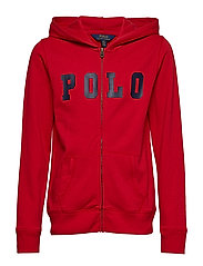 ATLANTIC TERRY-POLO ZIP UP-TP-KNT - RL2000 RED