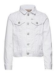 Cotton Denim Trucker Jacket - POE WASH