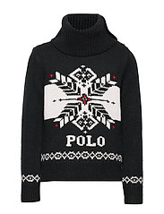 ACRYLIC NYLON WOOL-SNOWFLAKE-TP-SWT - POLO BLACK CREAM