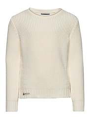 Rollneck Cotton Sweater - CLUBHOUSE CREAM