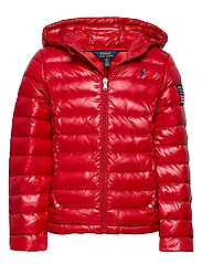 Packable Quilted Down Jacket - RL 2000 RED