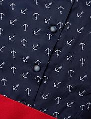 Ralph Lauren Kids - Anchor-Print Twill Dress - dresses - anchor print - 3