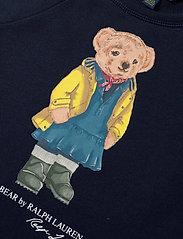 Ralph Lauren Kids - Raincoat Bear Terry Dress - dresses - hunter navy - 2
