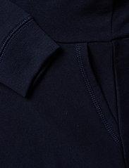 Ralph Lauren Kids - Raincoat Bear Terry Dress - dresses - hunter navy - 3