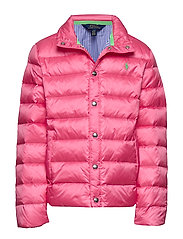 Packable Quilted Down Jacket - BAJA PINK