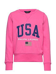 USA French Terry Pullover - BAJA PINK