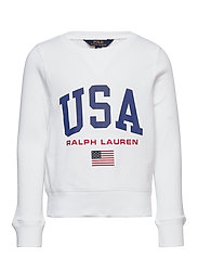 USA French Terry Pullover - PURE WHITE