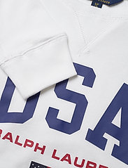 Ralph Lauren Kids - USA French Terry Pullover - sweatshirts - pure white - 2