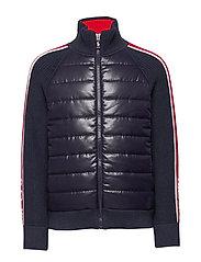 Cotton-Blend Hybrid Jacket - RL NAVY