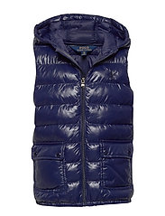 Packable Quilted Vest - FRENCH NAVY