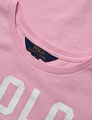 Ralph Lauren Kids - Logo Cotton Jersey Tee - short-sleeved - carmel pink - 2