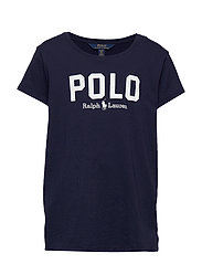 Logo Cotton Jersey Tee - FRENCH NAVY