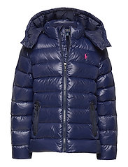 Water-Repellent Down Jacket - FRENCH NAVY