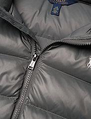 Ralph Lauren Kids - Water-Repellent Down Jacket - puffer & padded - magnum grey - 2