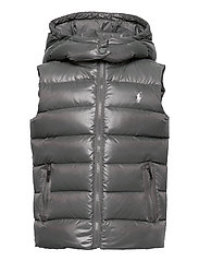POLY PLAINWEAVE-CHANNEL VEST-OW-VST - MAGNUM GREY