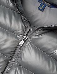 Ralph Lauren Kids - POLY PLAINWEAVE-CHANNEL VEST-OW-VST - vests - magnum grey - 2