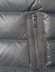Ralph Lauren Kids - POLY PLAINWEAVE-CHANNEL VEST-OW-VST - vests - magnum grey - 3