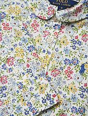 Ralph Lauren Kids - PRINTED COTTON POPL-LS SHIRTDRES-DR - dresses - white multi - 2