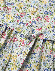 Ralph Lauren Kids - PRINTED COTTON POPL-LS SHIRTDRES-DR - dresses - white multi - 3
