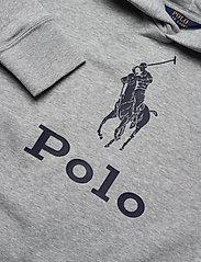 Ralph Lauren Kids - Big Pony Fleece Hoodie - hoodies - lt grey heather - 2