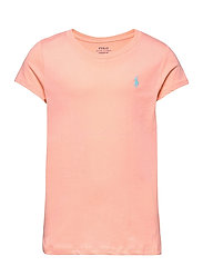 Cotton Jersey Tee - DECO CORAL