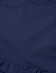 Ralph Lauren Kids - Ruffled Cotton Jersey Dress - dresses - french navy - 2