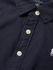 Ralph Lauren Kids - Belted Cotton Oxford Shirtdress - dresses - rl navy - 3