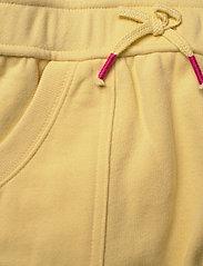 Ralph Lauren Kids - Floral Logo Fleece Dress - dresses - banana peel - 3