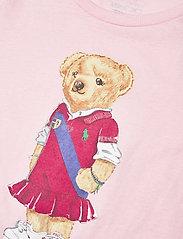 Ralph Lauren Kids - Polo Bear Cotton Jersey Tee - short-sleeved - hint of pink - 2