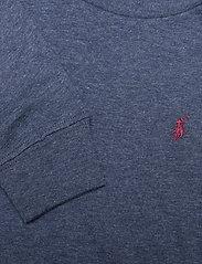 Ralph Lauren Kids - Cotton Jersey Long-Sleeve Tee - long-sleeved t-shirts - fresco blue hthr - 4