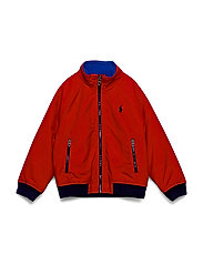 Water-Resistant Windbreaker - RL 2000 RED