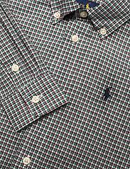 Ralph Lauren Kids - Plaid Cotton Poplin Shirt - overhemden - green/wine - 2