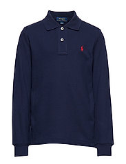 Cotton Mesh Polo Shirt - NEWPORT NAVY