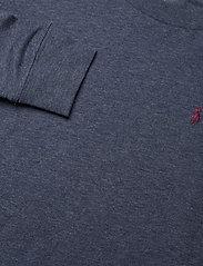 Ralph Lauren Kids - Cotton Jersey Long-Sleeve Tee - long-sleeved t-shirts - fresco blue hthr - 5