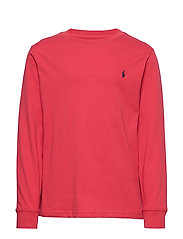 Cotton Jersey Long-Sleeve Tee - SUNRISE RED