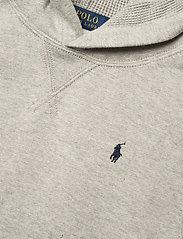 Ralph Lauren Kids - Cotton-Blend-Fleece Hoodie - pulls à capuche - dark sport heathe - 2