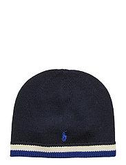 MERINO HAT-APPAREL ACCESSORIES-HAT - RL NAVY