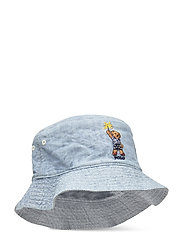 CHAMBRAY-RVRS BUCK HT-AC-HAT - CHAMBRAY