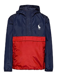 Water-Resistant Jacket - NAVY