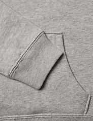 Ralph Lauren Kids - Flag Logo Fleece Hoodie - pulls à capuche - andover heather - 3