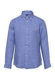 Linen Shirt - HARBOR ISLAND BLU