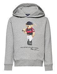 Polo Bear Fleece Hoodie - ANDOVER HEATHER