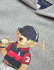 Ralph Lauren Kids - Polo Bear Fleece Hoodie - kapuzenpullover - andover heather - 2