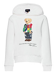 Polo Bear Fleece Hoodie - WHITE