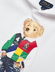 Ralph Lauren Kids - Polo Bear Fleece Hoodie - hoodies - white - 2